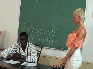 College Girl Joslyn James Fucks Her Teacher In The Classroom