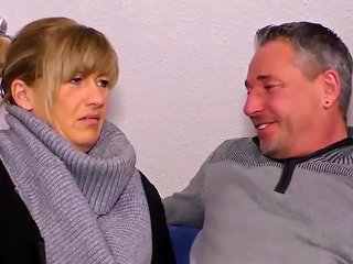 Sextape Germany Chubby German Mature Gives Head