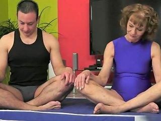Mature Beauty Katherin Feeling Sexy At Yoga Class Hdzog Free Xxx Hd High Quality Sex Tube