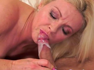Busty Cougar Doggystyle Fucked In Highheels