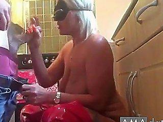 Smoking Blonde MILF