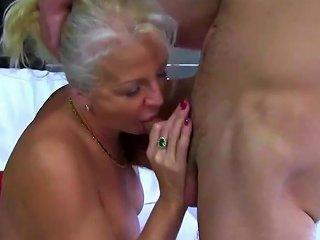 Granny Caught Smoking