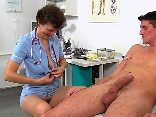 Dr Erma At Work Does Not Wear Panties