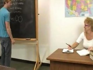 Teacher Denies Orgasm