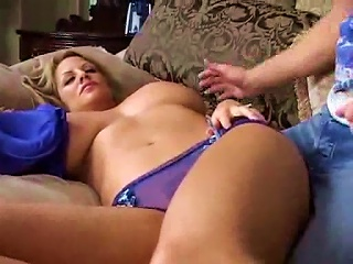 Curvy Slut With Great  Takes Younger Cock