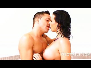 Milf Takes A Shower And She Wants Company