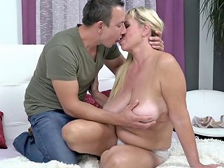 Mature Pam Pink Makes Young Cock Spill Its Load Porn Videos